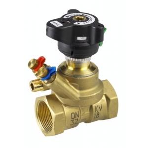 Балансировочный клапан MSV-BD, Ду 32 ВР, Kvs 18.0
