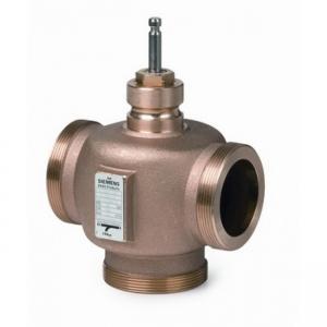 Трехходовой регулирующий седельный клапан Siemens VXG 44.25-10 DN25